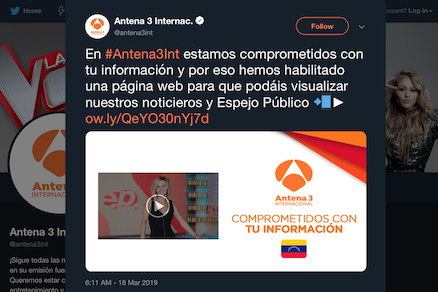 antena3int tweet